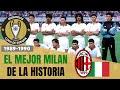 El MILAN DE SACCHI, Gullit y Van Basten (1989-1990) 🇮🇹 🏆 Historia de la Champions