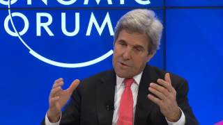 Davos 2017 - A Conversation with John Kerry: Diplomacy in an Era of Disruption