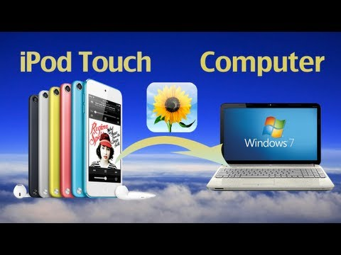 How to Transfer Photos from iPod Touch to PC? How to copy photo from iPod Touch 5 to computer?
