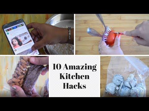 10 Easy Kitchen Hacks   Life Hacks   Useful Tips & Tricks   Amazing Hacks   Food Connection