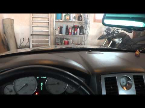 Chrysler 300 windshield washer fluid sprayer fix