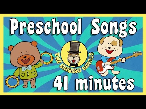 Preschool Song compilation | Songs for Kids | The Singing Walrus