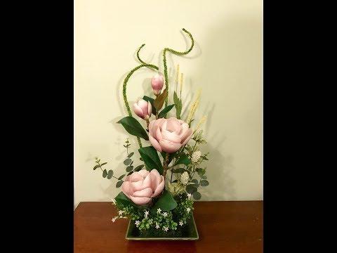 Amazing Flowers' silk Flower Arrangement