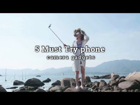 Top5 Amazing Smartphone Camera Accessories! You must try!