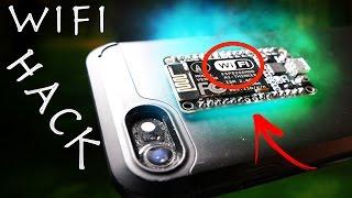 Illegal $8 Wifi Jammer Hack! - Simple Smartphone Spy Gadget!?!?