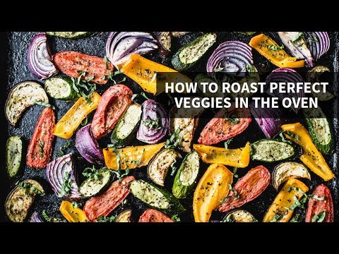HOW TO ROAST PERFECT VEGGIES IN THE OVEN | meal prep made easy