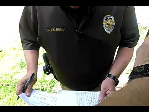 Police harassment, illegal search, littering, and trespassing on my private property!!!
