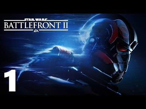 Star Wars Battlefront 2 Campaign Walkthrough Ep 1 (No Commentary) 1080p HD