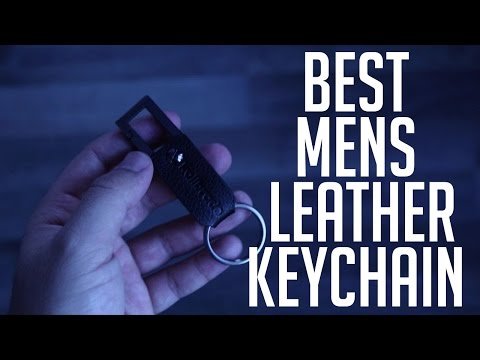 Review of Best Mens Leather Keychain with Snap Hook