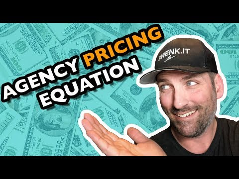 THE MARKETING AGENCY PRICING EQUATION - HOW TO PRICE AGENCY SERVICES