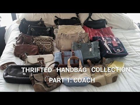 Thrifted Handbag Collection - Coach