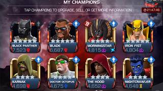 Awakening BLADE 5 Star and Rank Up to 4/55 - Marvel Contest of Champions
