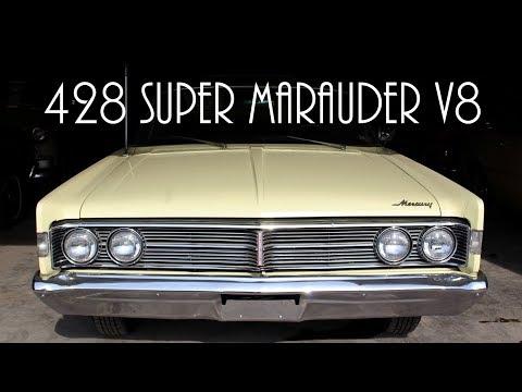 Rare 1966 Mercury Monterey S55 428 Super Marauder V8