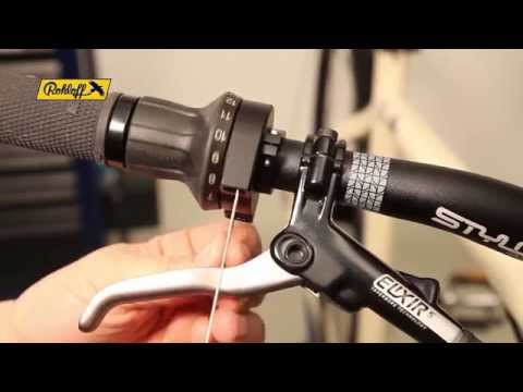 SPEEDHUB Workshop - Changing the twist shifter cables