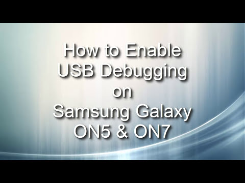 How to Enable USB Debugging on Samsung Galaxy ON7, ON5, On5 Pro, On7 Pro Phones