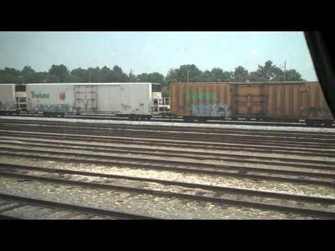 FAST AMTRAK TRAIN RALEIGH WASHINGTON