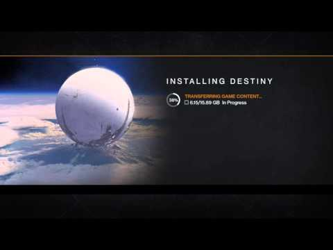 Help Destiny is stuck on transfering game data