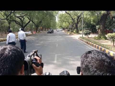 Impenetrable SPG Security Cover : How PM Narendra Modi's cavalcade move in India