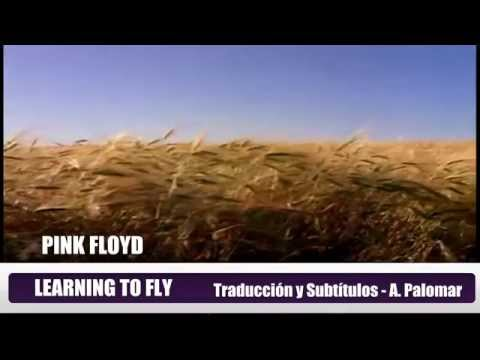 PINK FLOYD   LEARNING TO FLY  Subtitulos Español & Ingles
