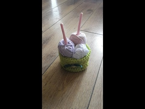 Basket - Crochet - Tutorial -English