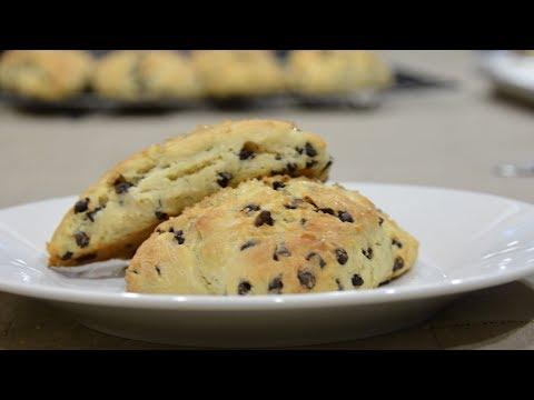 Chocolate Chip Scones Recipe | COLINary