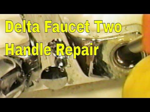 Delta Faucet Two Handle Repair 👍👍👍