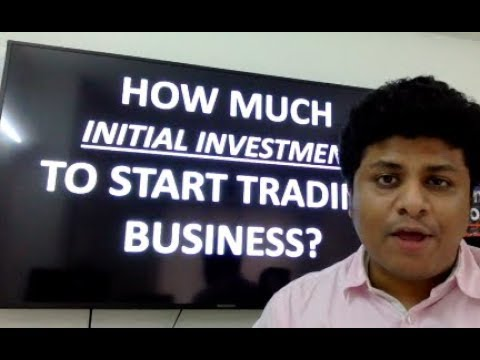 What is the Start up Cost For Stock Market Trading Business?