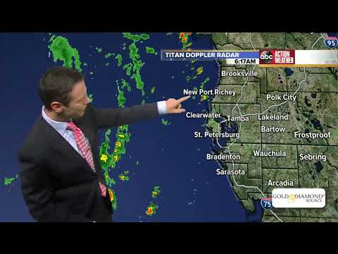 Subtropical Storm Alberto approaching Florida panhandle