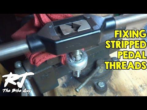 Repairing Stripped Crank Arm Pedal Threads