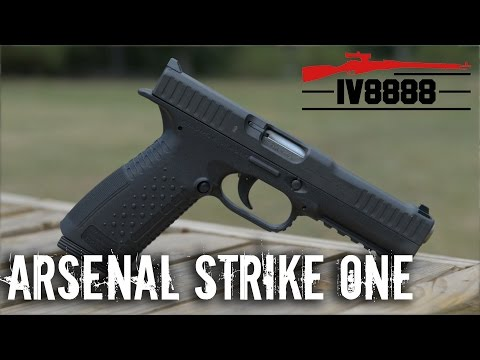 Arsenal Firearms Strike One 9mm