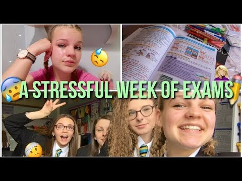 Tears, Stress and A Whole Lot Of Exams//GCSE Weekly Vlog...lush leah