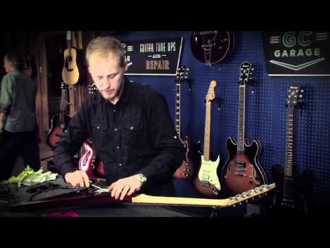 GC Garage - How to Restring a Guitar with a Floyd Rose