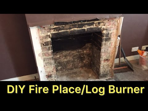 DIY - Fireplace / Log Burner Part 1