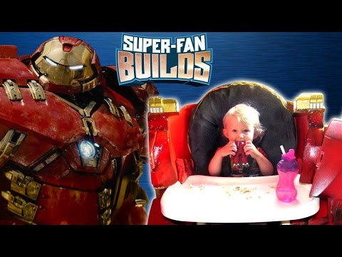 HulkBuster Highchair (The Avengers: Age of Ultron) - SUPER FAN BUILDS