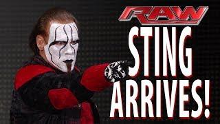 Sting returned to Raw 8,Jan.2018 Live -Wwe raw 08/01/2018 Live -Wwe raw live