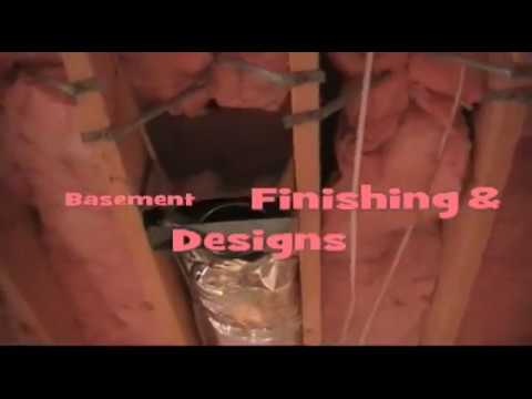 Basement Framing Job