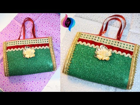 How to make handbag at home easy - Handbags for women - step by step making