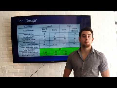 Team 13: Gearbox Design for Wind Turbine