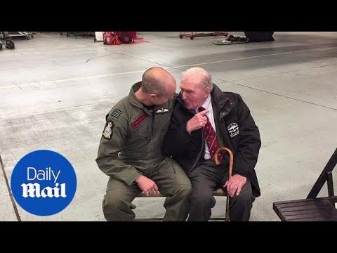 Last British survivor of Dambusters raid celebrates anniversary - Daily Mail