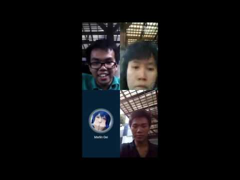 How to start video conference/group call using skype
