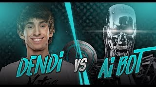 Dendi vs NEW DOTA 2 AI BOT - The International 2017