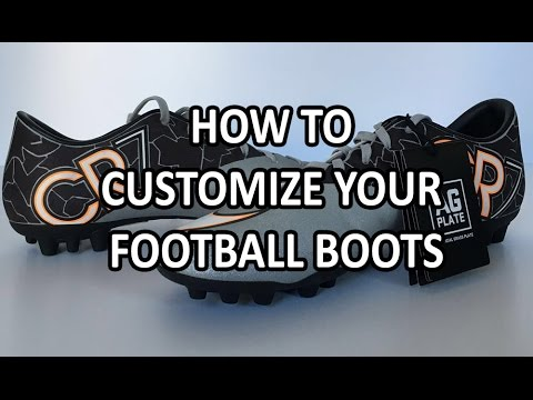 How to customize your Football Boots