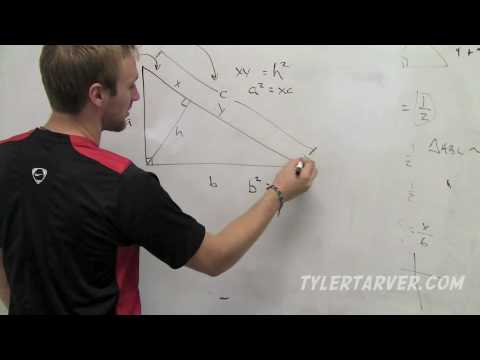 Geometry: 8-1 Similarity in Right Triangles
