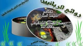 من عداوة الشيطان لك أن يضيق صدرك بفعل الطاعات-الشيخ الشنقيطي