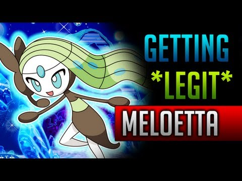 How & Where to catch/get - *LEGIT* Meloetta in Pokemon Black 2 & Pokemon White 2