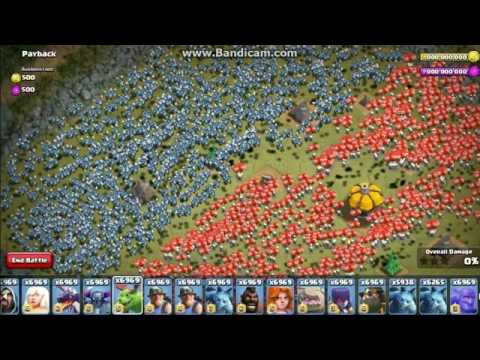 UNLIMITED TROOPS | CLASH OF CLANS - ATTACKS And Trophies