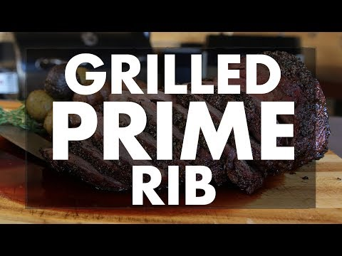 Step-By-Step Grilled Prime Rib