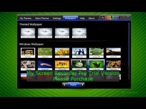 How to change wallpaper/theme on windows 7 starter