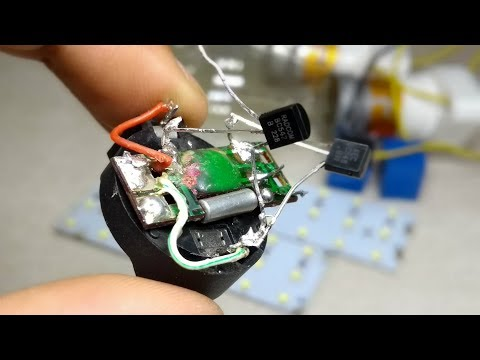 DIY Awesome idea for lighting with old clock circuit | light blinker |