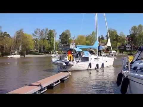 Oceanvolt AX8 shaft drive electric motor, Privilege Marine Feeling 32